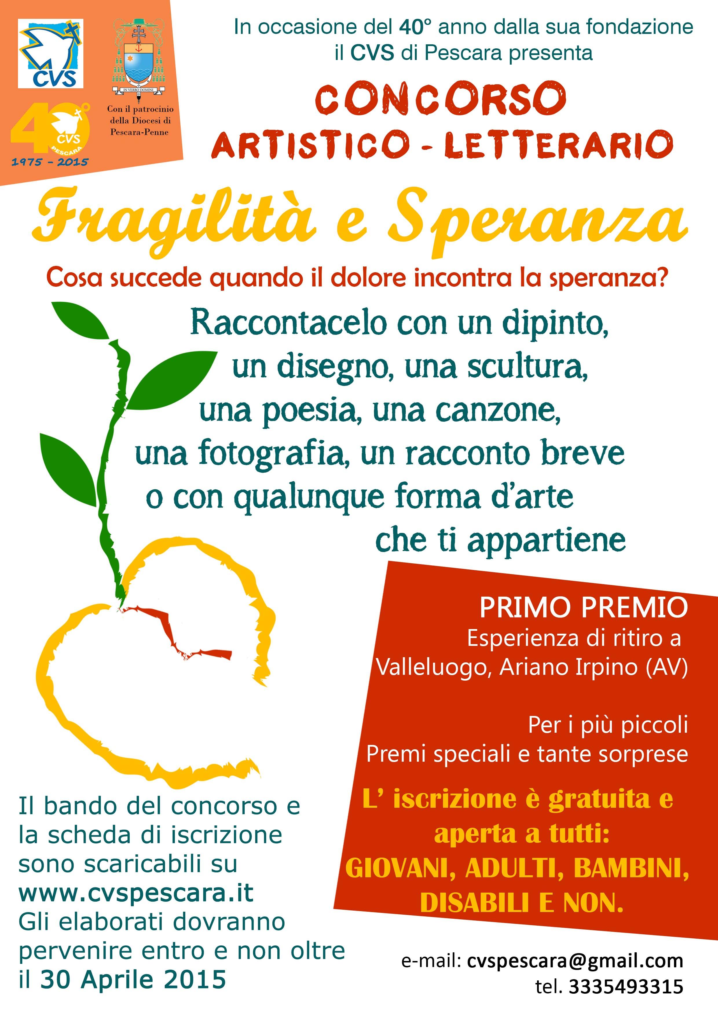 Il CVS di Pescara-Penne festeggia il 40° anno di apostolato nella diocesi.