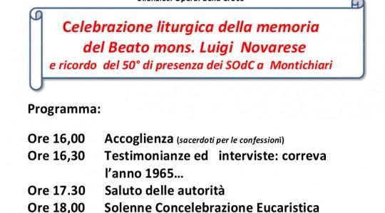 In memoria del beato Luigi Novarese