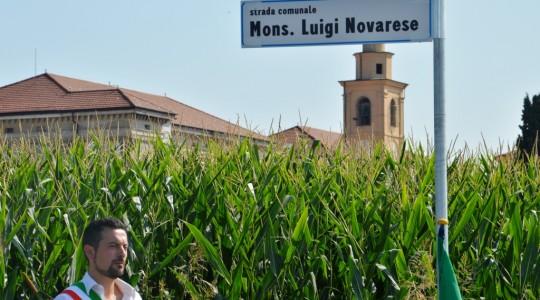 Inaugurazione nuova strada dedicata al Beato Luigi Novarese