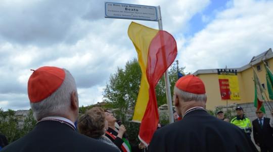 Una via dedicata al beato Luigi Novarese