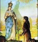 Pasqua dell'ammalato: Madonna di Caravaggio (Fumo di Corvino san Quirico)