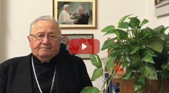 #vedovangelo ospita Mons. Giuseppe Verucchi